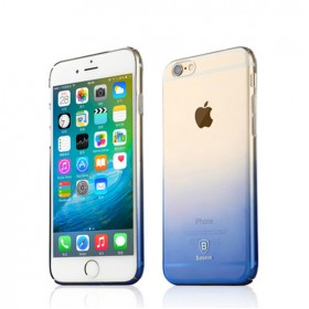Чехол Baseus Gradient для iPhone 6 / iPhone 6S (Синий)