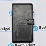 Чехол Book Cover Sticker для Samsung Galaxy A7 (Черный)
