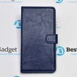 Чехол Book Cover Sticker для Samsung Galaxy A7 (Синий)