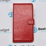 Чехол Book Cover Sticker для Samsung Galaxy A7 (Красный)