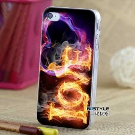 Чехол BUSTYLE для iPhone 4 / 4s (Любовь в Огне - SZUV-I4-TPS222)