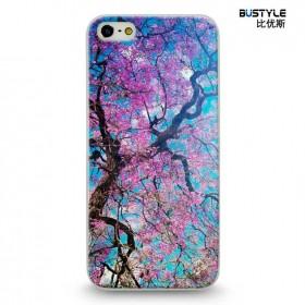 Чехол BUSTYLE для iPhone 5 / 5s (Цветущее дерево - SZPC-IP5-1875 )