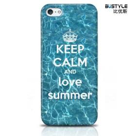 Чехол BUSTYLE для iPhone 5 / 5s (Люби лето - SZPC-IP5-1694)