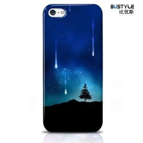 Чехол BUSTYLE для iPhone 5 / 5s (Падающие звезды - SZPC-IP5-1438)