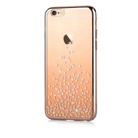 Чехол с кристалами Comma Unique Polka 360 для iPhone 6 / 6s (Champagne Gold)