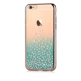 Чехол с кристалами Comma Unique Polka 360 для iPhone 6 / 6s (Green)