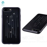 Чехол с кристалами Devia Crystal Meteor soft TPU case для iPhone 7 | 8 (Gun Black)