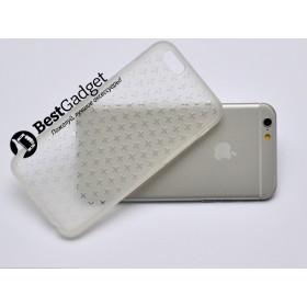 "Чехол Cross Lines TPU для iPhone 6 (4,7"") (Белый | Прозрачный)"