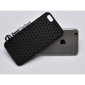 Чехол Cross Lines TPU для iPhone 6 (4,7) (Черный)