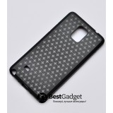 Чехол Cross Lines TPU для Samsung Galaxy Note 4 (Черный)