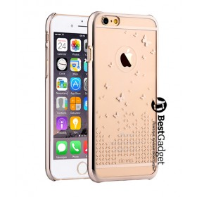 Чехол Devia Butterfly для iPhone 6 / 6s (Champagne Gold)
