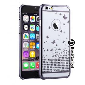 Чехол Devia Butterfly для iPhone 6 / 6s (Gun Metal)