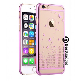 Чехол Devia Butterfly для iPhone 6 / 6s (Rose Pink)