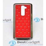 Чехол Diamond Cover для LG G2 | Красный