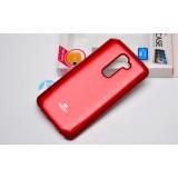 Чехол Goospery Jelly для LG G3s (Mercury Красный)