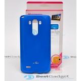 Чехол Goospery Jelly для LG G3 (Mercury Синий)