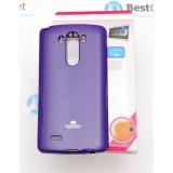 Чехол Goospery Jelly для LG G3 (Mercury Фиолетовый)