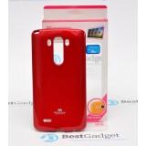 Чехол Goospery Jelly для LG G3 (Mercury Красный)