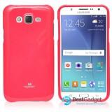 Чехол Goospery Jelly для Samsung Galaxy J5 (Mercury Малиновый / Hot Pink)