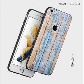 Чехол HOCO Element series Wood grain для iPhone 6 / 6s (Weatherworn wood)