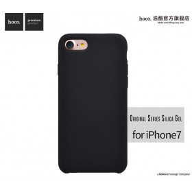 Чехол HOCO Original Series Silica Gel для iPhone 7 | 8 (Black)
