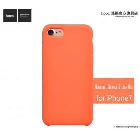 Чехол HOCO Original Series Silica Gel для iPhone 7 | 8 (Orange)