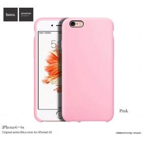 Чехол HOCO Original Silica Gel Series для iPhone 6 / 6s (Bright Pink)