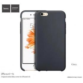 Чехол HOCO Original Silica Gel Series для iPhone 6 / 6s (Dark Grey)