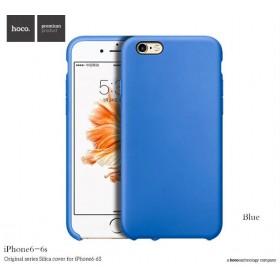 Чехол HOCO Original Silica Gel Series для iPhone 6 / 6s (Sapphire Blue)