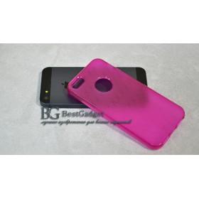 Чехол IcareR для iPhone 5 / 5s / SE (Diamond Shape Serіes) *pink