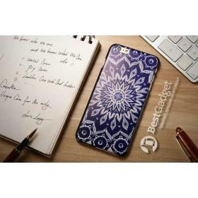 Чехол iCase Print для iPhone 6 (Орнамент)