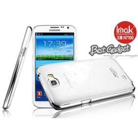 Чехол ImaK для Samsung Galaxy Note 2 n7100 (Raindrop White) + защитная плёнка