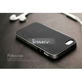 Чехол iPaky PC+TPU для iPhone 5 / 5s / SE (Silver Frame)