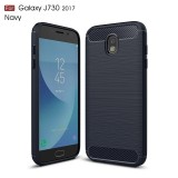 Чехол iPaky TPU Shockproof Lasi Series Samsung Galaxy J7 2017 j730 (Blue)