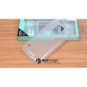 Чехол Kuboq Advanced TPU для Samsung Galaxy S5 (Белый/Прозрачный) + пленка