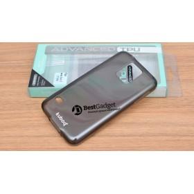 Чехол Kuboq Advanced TPU для Samsung Galaxy S5 (Серый/Прозрачный) + пленка