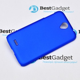 "Чехол Moshi iGlase ""Snap on Case"" для Lenovo A850 (Синий)"