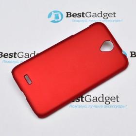 """Чехол Moshi iGlase """"Snap on Case"""" для Lenovo A850 (Красный)"""