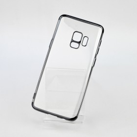 Чехол накладка Glitter Electroplated TPU Series для Samsung Galaxy S9 (0.8mm Black)