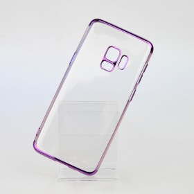 Чехол накладка Glitter Electroplated TPU Series для Samsung Galaxy S9 (0.8mm Purple)