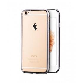 Чехол накладка HOCO Glint Plating TPU для iPhone 6 / 6s (Серый)