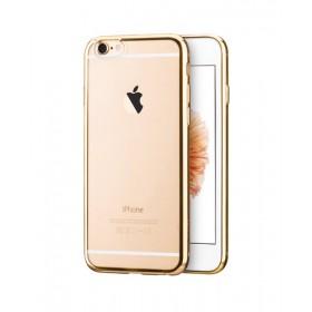 Чехол накладка HOCO Glint Plating TPU для iPhone 6 / 6s (Золото)