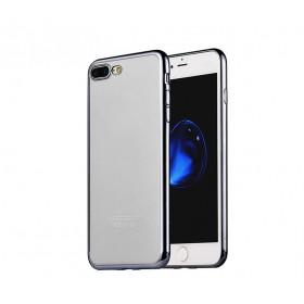 Чехол накладка HOCO Glint Series electroplated TPU для iPhone 7 Plus | 8 Plus (0.9mm Black)