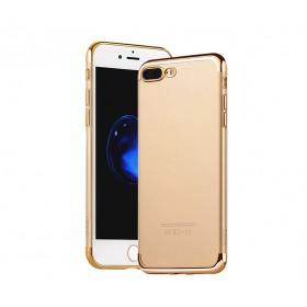 Чехол накладка HOCO Glint Series electroplated TPU для iPhone 7 | 8 (0.9mm Gold)