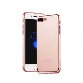 Чехол накладка HOCO Glint Series electroplated TPU для iPhone 7   8 (0.9mm Rose Gold)