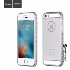 Чехол накладка HOCO Ice Crystal series TPU для iPhone SE / 5s / 5 (Прозрачная)