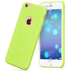 Чехол накладка HOCO Juice series TPU для iPhone 6 / 6s (Салатовый / Зеленый)