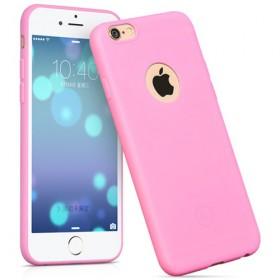 Чехол накладка HOCO Juice series TPU для iPhone 6 / 6s (Розовый)