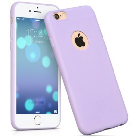 Чехол накладка HOCO Juice series TPU для iPhone 6 Plus/ 6s Plus (Фиолетовый)