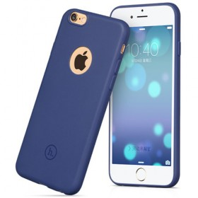 Чехол накладка HOCO Juice series TPU для iPhone 6 Plus / 6s Plus (Темно Синий)